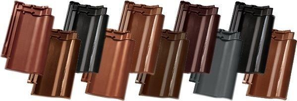 Kies de type dakpan in de kleur die bij uw huis past